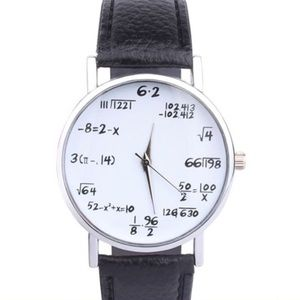 Accessories - NEW Math Teacher Women's Fashion Gift Watch